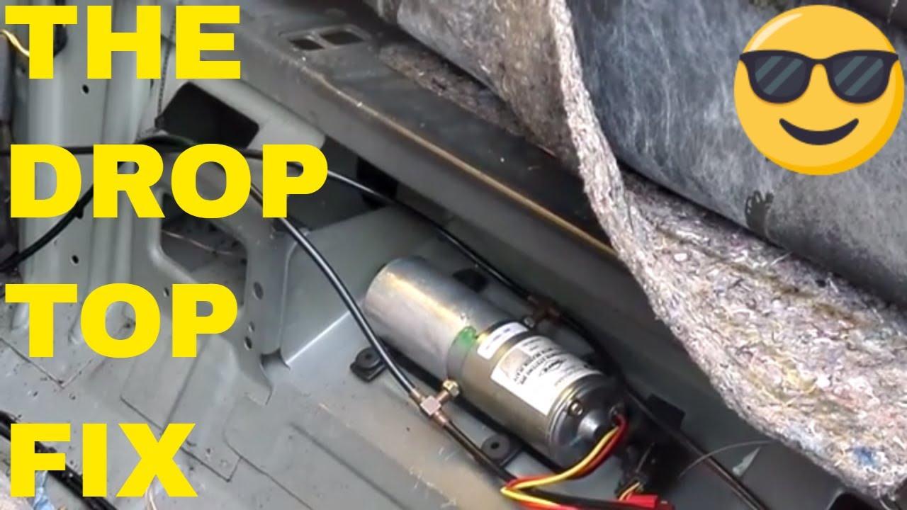 medium resolution of diy chrysler sebring convertible top motor relay replacement