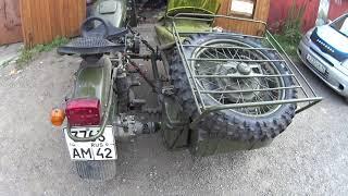 новый обзор мотоцикла  Урал 2018 г.часть 1