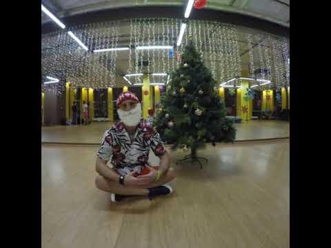 """Ведущий Изот Кузьмин. """"Новый год - наоборот"""" в Sculptors Fitness Купчино Санкт-Петербург."""