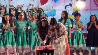 قناة اطفال ومواهب الفضائية حفل توديع الزهرة رفا