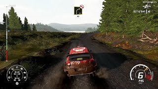 WRC 8 on Nintendo Switch - Citroën C3 WRC at Wales Rally GB Gameplay