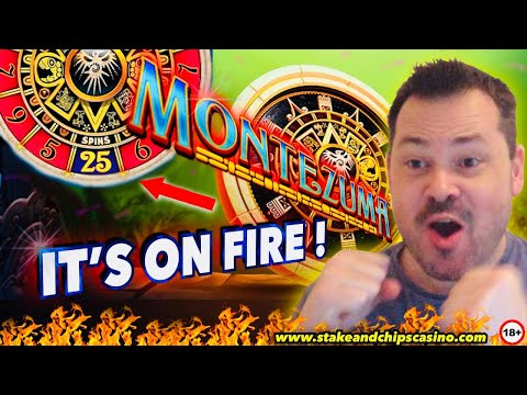 When Slots Go Mad And Pay ! - MONTEZUMA ❤️ Casino Win