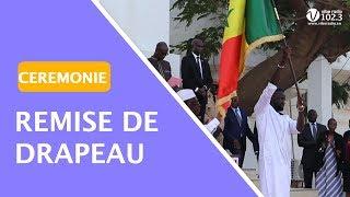 Remise de Drapeau: La réaction des lions face au discours du président