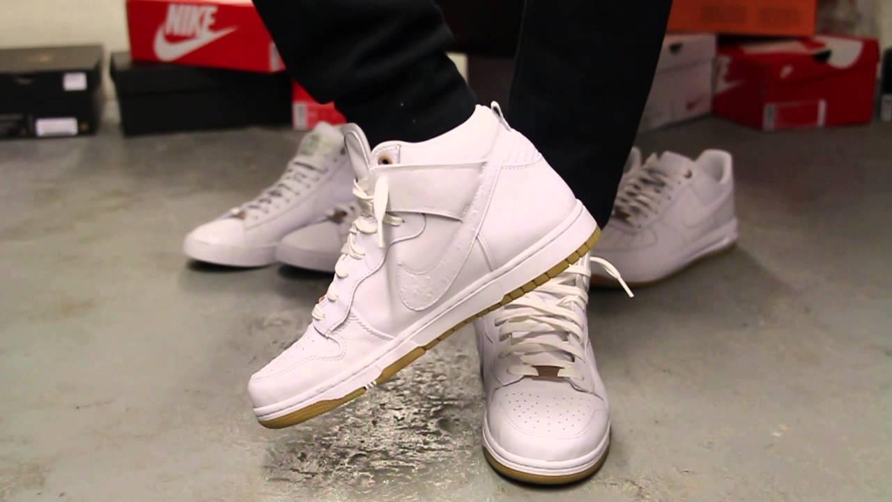 Nike Dunk Comfort Prem White White Qs R2f2853 - Trainers