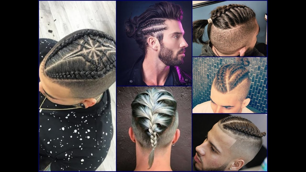 25 Cool Men S Braids Hairstyles Latest Hair Trend 2018 Youtube