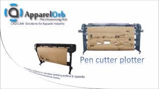 High quality, high speed and Cheap  pattern cutting  plotter machine for Garment & Apparel