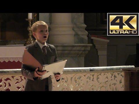 Alleluia (Exsultate, jubilate - Mozart) | boy soprano Aksel Rykkvin (12y) & Stephen Hicks