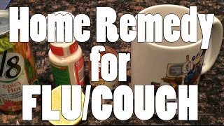 "Super Simple ""Home Remedy"" Recipe for FLU and COUGH made with Babi"