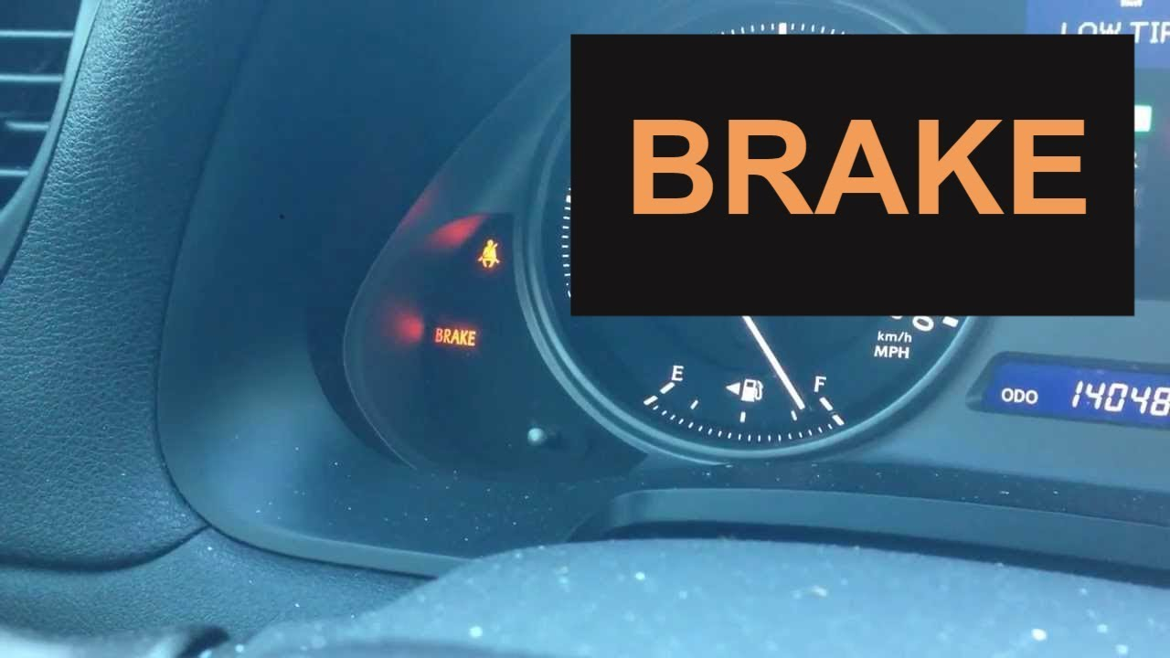 How To Fix Brake Warning Light In Lexus Is250 2006 2014