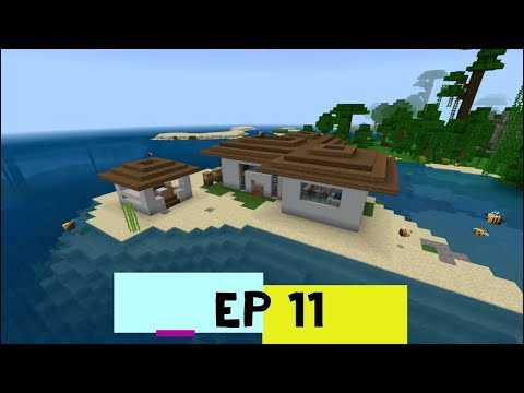 Building my Dream House in Minecraft! Episode 11 - Beach-house