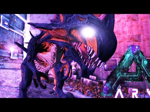 FINALLY TAMED!! PREGNANT & BIRTHING REAPER KING! HOW TO - (13) Ark Aberration Gameplay