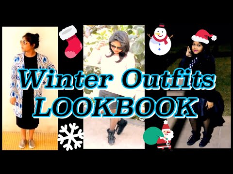 Winter Outfits Lookbook | Neetu K