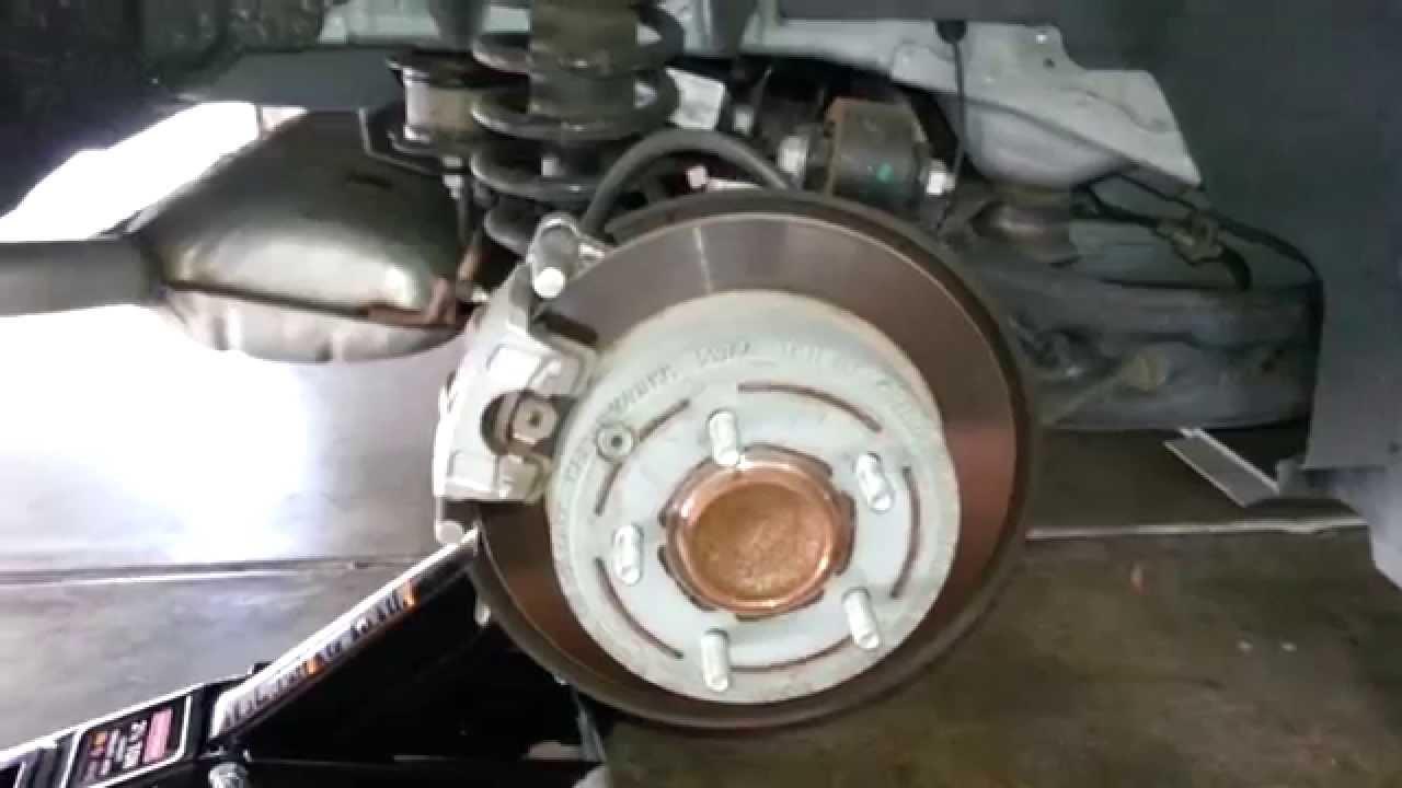 2013 Chrysler 200 Sedan Checking Rear Disc Brakes Amp Link