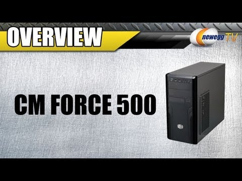 Newegg TV: COOLER MASTER CM Force 500 ATX Mid Tower Computer Case Overview