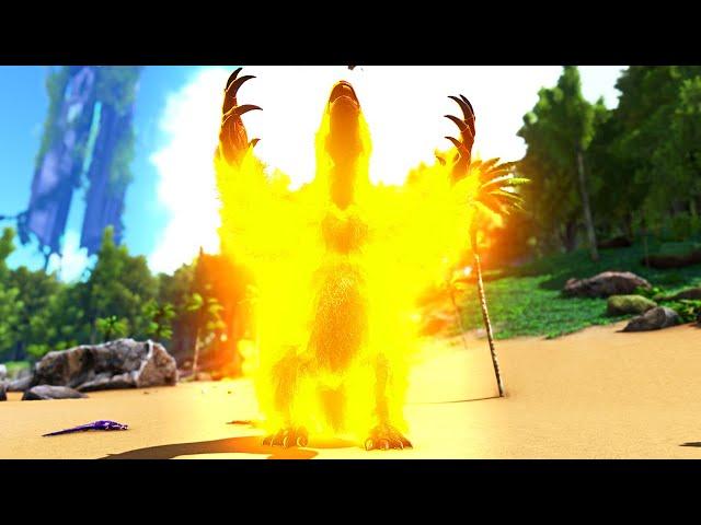 STEALING THE POWER of the EXPLOSIVE GOD!   ARK O-MEGA Modded #62