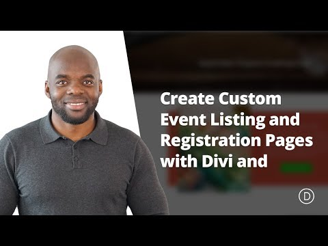 How to Create Custom Event Listing and Registration Pages with Divi and WooCommerce