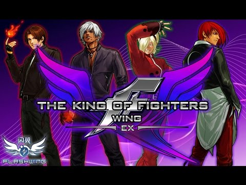 ���� the king of fighters wing ex v10 combo youtube