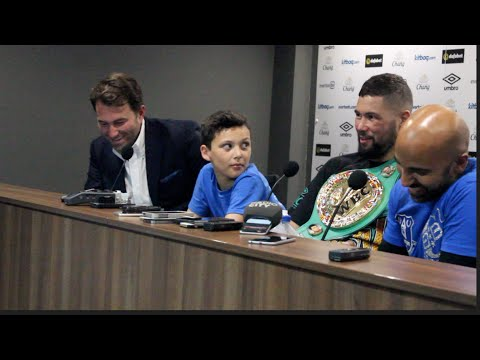 TONY BELLEW v ILLUNGA MAKABU - **FULL** POST FIGHT PRESS CONFERENCE @GOODISON PARK