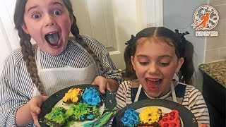 Kids Kitchen Real Recipes 4 - Kids Cooking Lego Brownies
