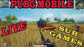 PUBG MOBILE - PRO PLAYER - BACK TO BACK CHICKEN DINNER - SUB GAMES JOIN FAST