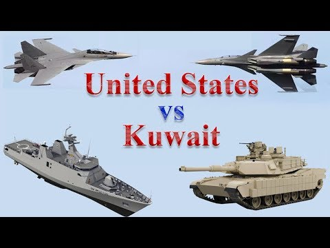 United States vs Kuwait Military Power 2017