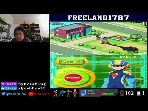 100 Follower Special Part 1: Megaman Battle Network 5 Double Team DS Team Colonel Day 6