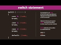 PHP Switch Conditional Statement Tutorial