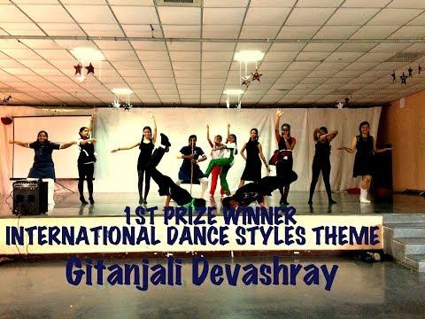 1st Prize Winner | International Dance Styles | Gitanjali Devashray school | Choreography by Shetty