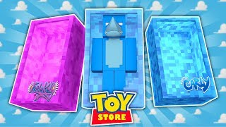 Minecraft TOYS -  LITTLE KELLY AND LITTLE CARLY ARE MISSING !!! Sharky Adventures