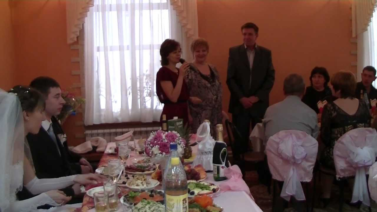 Песня на свадьбе мамы от дочери