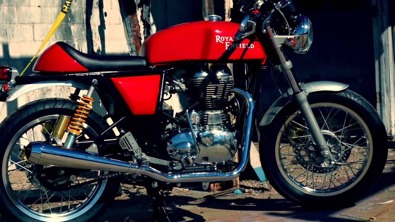 royal enfield cafe racer - youtube