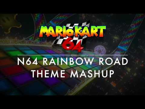 MK64 Rainbow Road Theme Mashup (MK64/MK8)