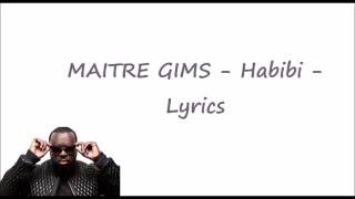 MAITRE GIMS Habibi Lyrics