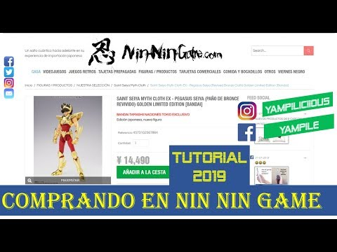 ¿ CÓMO COMPRAR EN NIN NIN GAME? / TUTORIAL 2019 thumbnail
