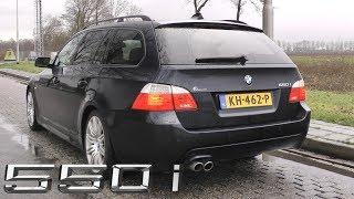 BMW E60/E61 550i - Revs, Accelerations & Sounds!