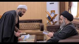 السيد العلوي في عتبة الإمامين العسكريين عليهما السلام ١٤٤٢