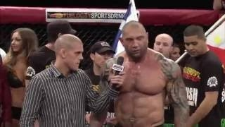 BATISTA DEBUT in MMA! Heaviest MMA FIGHT for BATISTA in MMA!