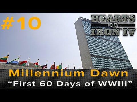 "Hearts of Iron 4: Millennium Dawn ""First 60 days of World War III"""