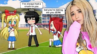 My Crush Told Me He Likes Me... | Gacha Studio Roleplay
