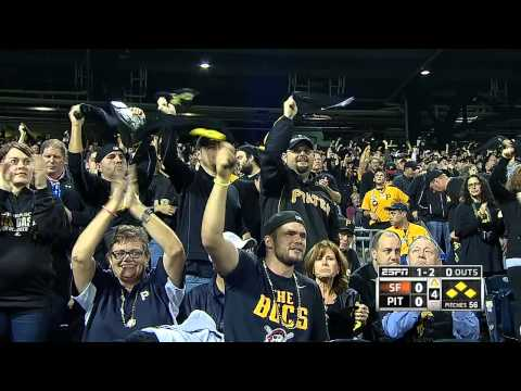 Wild Card: Giants vs. Pirates [Full Game HD]