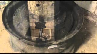 Печь на отработке из жигулевских дисков