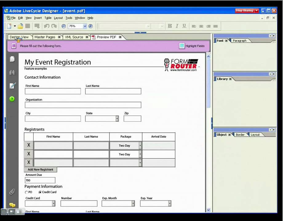 Sap Interactive Forms By Adobe Pdf