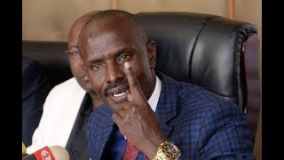 KNUT Secretary General Wilson Sossion call issues a strike notice