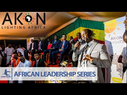 Akon Speech Where He Said Without Charity Africa Will Be in A Better Place