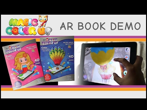 Geek & Nerds - Magic Color UP AR Coloring Book Demo - YouTube