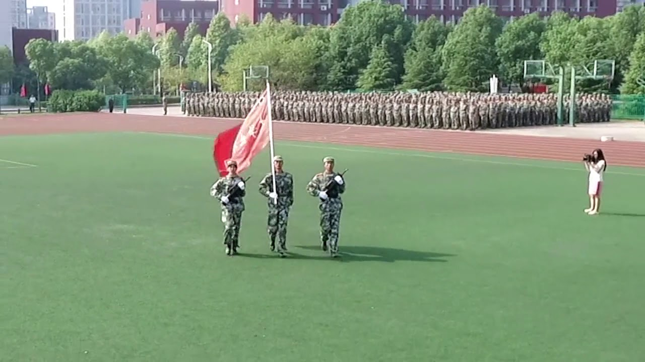 Nanjing Communications Institute of Technology  南京交通职业技术学院 (Freshman military training)