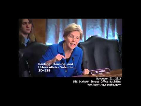Sen. Elizabeth Warren vs NY Fed's William Dudley