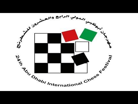 24th Abu Dhabi Chess International Chess Festival  OPEN ROUND
