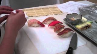 How to Make Nigiri Sushi-Sushi Chef Taka at Sushi Making Class-BC