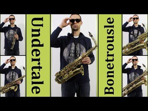 Undertale Bonetrousle - saxophone only (a saxappella)